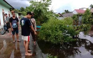 Balita 1 Tahun Tewas Tenggelam di Genangan Banjir Depan Rumah