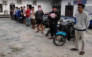 Puluhan Pembalap Liar Ditertibkan Satlantas Polres Kotim