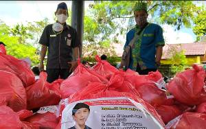H Sugianto Sabran dan H Agustiar Sabran Disebut Pemimpin yang Peduli karenaBantu Kelembagaan Adat