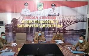 Pemkab Barito Utara Ikuti Video Conference Dengan KPK