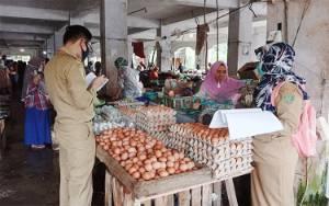 Dinas Pertanian Barito Timur Sidak Pasar Tamiang Layang