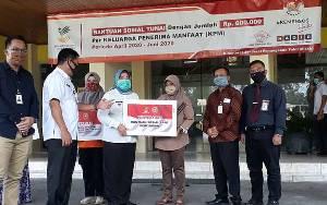 Bupati Kobar Launching Penyerahan 3 Jenis Bantuan Sosial