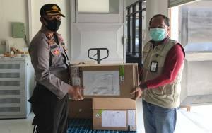 Gubernur Kalteng Serahkan Masker Non Medis Kepada Polda dan Korem Untuk Masyarakat