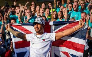 Lewis Hamilton Atlet Inggris Terkaya Versi Sunday Times