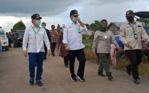Menteri Pertanian Tiba di Belanti Siam