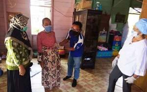 Ikuti Protokol Kesehatan, Layanan Posyandu Desa Bintang Ninggi II Tetap Berjalan