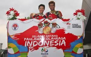 PBSI: Tontowi Ahmad dan Lilyana Pahlawan Bulu Tangkis Indonesia