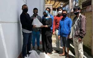 Wakil Ketua I DPRD Palangka Raya Salurkan Bantuan Bagi Warga Terdampak Covid-19