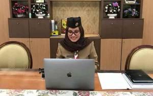 Kwartir Daerah Gerakan Pramuka Kalteng Gelar Rakerda Secara Online