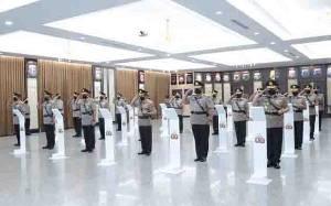 Kepala BNPT dan 76 Perwira Polri Naik Pangkat