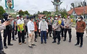 Gubernur Kalteng Perintahkan Pemkab Barito Timur Larang Warga Kalsel Masuk Kalteng