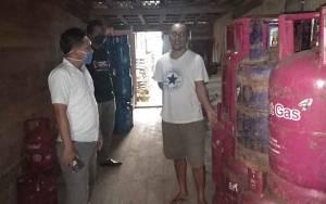 Jelang Idul Fitri, Polres Katingan Pantau Ketersediaan Elpiji di Katingan Tengah