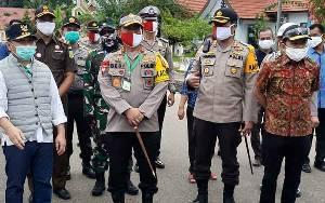 Kapolda Kalteng Berpesan Perketat Penjagaan di Perbatasan Kalsel