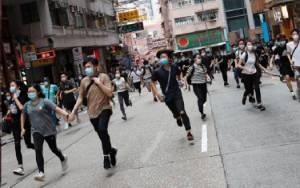 Penentang UU Keamanan Nasional Hong Kong Diklaim Picu Terorisme