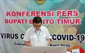 Bupati Barito Timur Terbitkan Larangan ke Luar Masuk Daerah