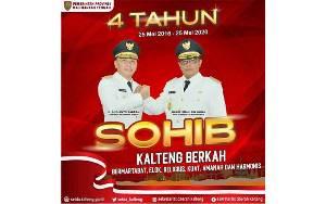 Empat Tahun Kepemimpinan Sugianto Sabran dan Habib Ismail Bin Yahya