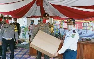 Polres Bartim Perkuat Penjagaan di Wilayah Perbatasan