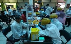 150 Pedagang di PPM Jalani Rapid Test Covid-19