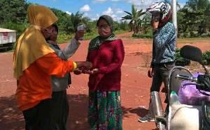 Pemerintah Desa Sidomulyo Tingkatkan Pengawasan di Pintu Masuk untuk Cegah Covid-19
