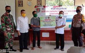 Warga Desa Kuluk Bali Katingan Cairkan BLT Dana Desa