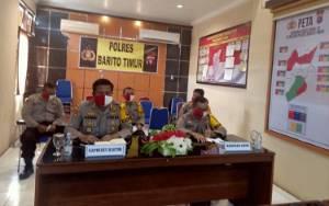 Kapolres Barito Timur Laporkan Situasi kepada Irwasda Polda Kalteng, Apa Katanya