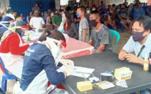 Sekda Kalteng Hadiri Rapid Test Massal di Kabupaten Kapuas