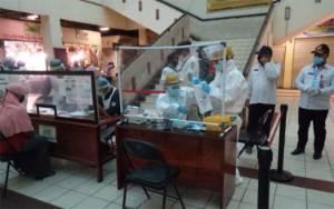 Anggota DPRD Kotim Dukung Gugus Tugas Lakukan Rapid Test di Pasar