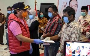 20.986 KK di Kotawaringin Timur Terima Bantuan Sosial Tunai Terdampak Covid-19 dari Pemprov Kalteng