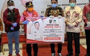 Bupati Kotawaringin Timur:  Terima Kasih Gubernur Kalteng