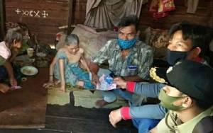 Pemerintah Desa Hurung Kampin Salurkan BLTD untuk Warga Terdampak Covid-19