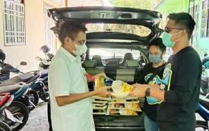 Petani di Barito Utara Kembali Sumbang Beras untuk Warga Terdampak Covid-19