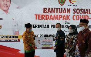 Bupati Seruyan: Bansos untuk Warga Terdampak Covid-19 Harus Dimanfaatkan dengan Baik