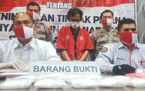 Direktur Narkoba Polda Kalteng Sebut Sabu Setengah Kilo Lebih Jaringan Pontianak