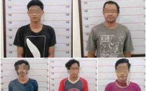 Komplotan Pembobol Toko Bangunan Ditangkap Anggota Polsek Arut Selatan