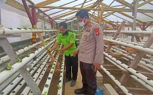 Kapolres Barito Timur Dukung Program Ketahanan Pangan