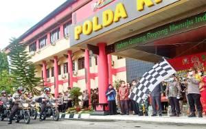 Peringati Hari Lahir Pancasila, Polda Kalteng Distribusikan Ribuan Paket Sembako ke Masyarakat