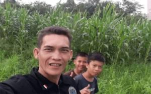 Krismen, Petani Milenial Barito Timur Sukses Budidaya Jagung Pakan