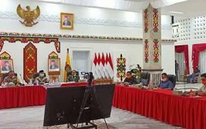 Gubernur Kalteng Ikuti Rapat Koordinasi Persiapan Tatanan New Normal