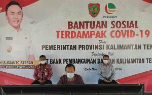 Bupati Seruyan Pimpin Rapat Bahas Pelaksanaan Bansos Terdampak Covid-19