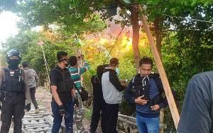 'Kampung Narkoba' di Palangka Raya Kembali Diluluhlantakkan