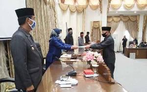 Fraksi DPRD Barito Utara Setujui Perubahan Raperda Pembentukan dan Susunan Perangkat Daerah