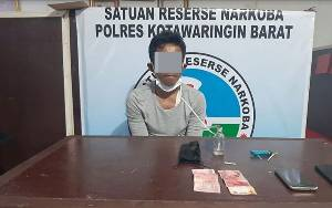 Simpan Sabu Dalam Vas Bunga, Warga Kumai Terancam 12 Tahun Penjara