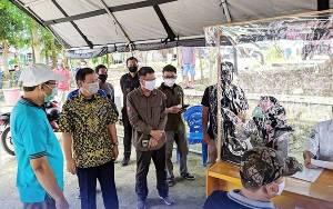 Pemkab Barito Utara Laksanakan Rapid Test Pada 275 Pedagang