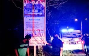 Puluhan Baliho Keselamatan Berlalu Lintas Terpasang di Sejumlah Jalan Protokol Palangka Raya