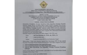 Legislator DPRD Kotim Belum Terima Hasil LHP BPK