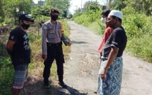 Kedepankan Protokol Pencegahan Covid-19, Polsek Kahayan Kuala Kampanye Setop Karhutla
