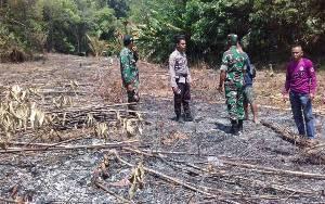 Koramil Tumbang Jutuh Bersama Polsek Rungan Patroli Titik Hotspot di Desa Tumbang Rahuyan
