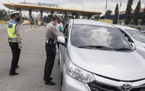 4 Hari, Polisi Putar Balik 10 Ribu Kendaraan karena Tak Ada SIKM