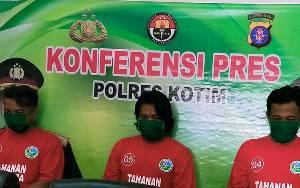 Tiga Tersangka Sabu Termasuk Anggota DPRD Seruyan Terancam 20 Tahun Penjara