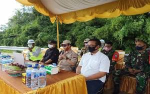 Sakariyas Minta Aparat Tindak Tegas Warga yang Corat-coret Jembatan Tumbang Samba
